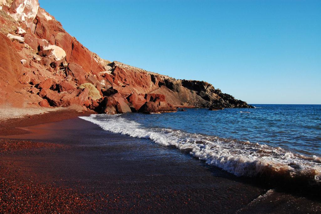 plages de santorin