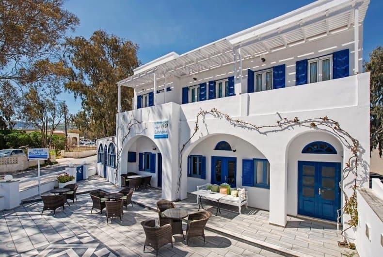 hotel eucalyptus santorin