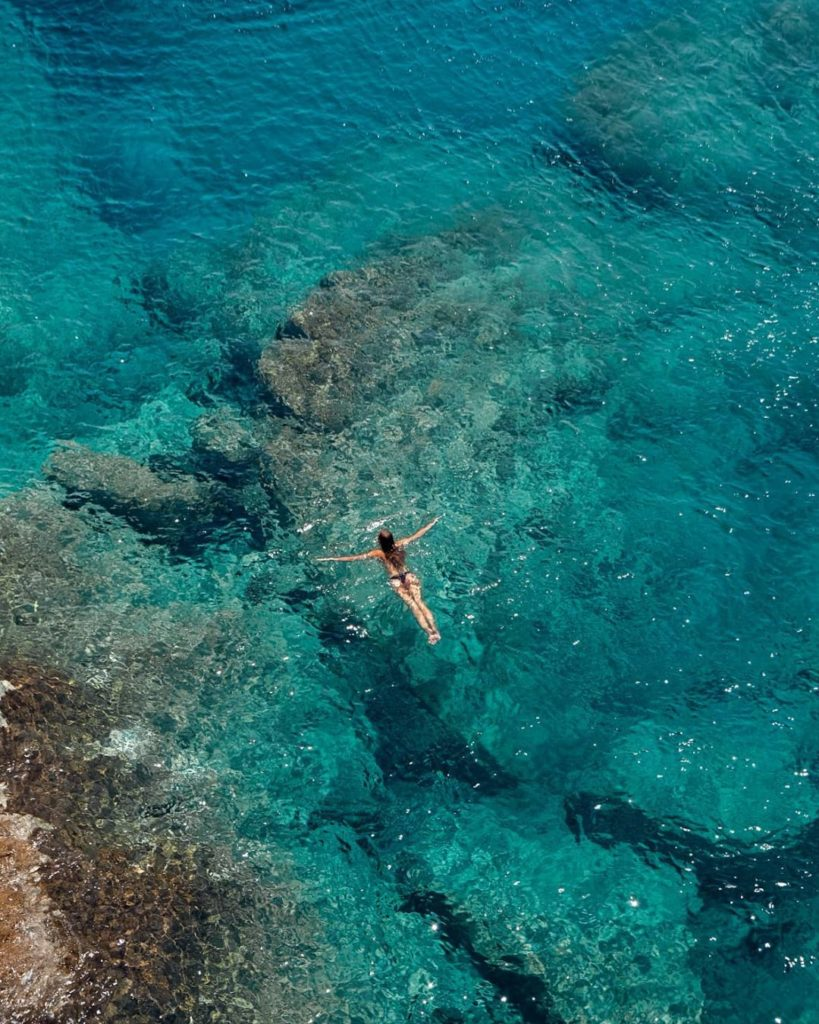 iles grecques depuis santorin