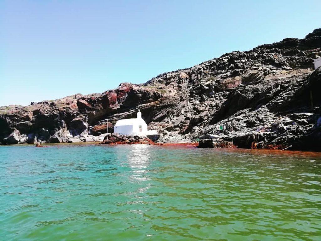 excursions en bateau à santorin