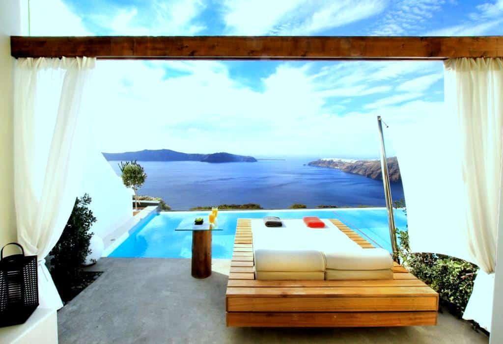 hôtels à imerovigli Santorin